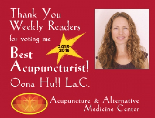 Best Acupuncturist 2018