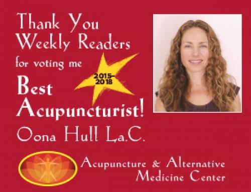 Best Acupuncturist 2018