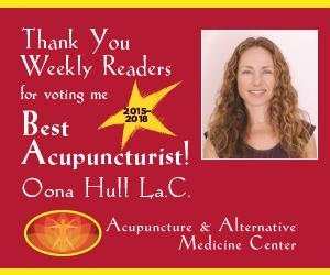 Best Acupuncturist Monterey Award